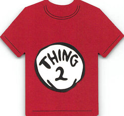 Thing 2 T-Shirt Cat in the Hat