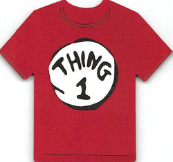 Thing 1 T-Shirt Cat in the Hat