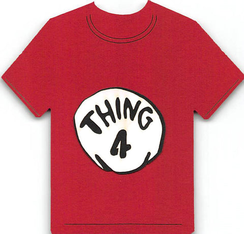Thing 4 T-Shirt Cat in the Hat