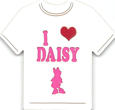 I Love Daisy T-Shirt