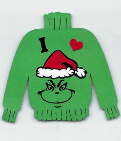 I Love Grinch Sweater