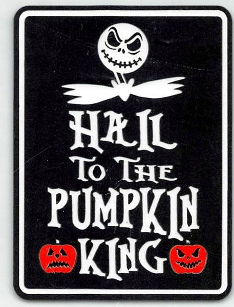 Hail To The Pumpkin King