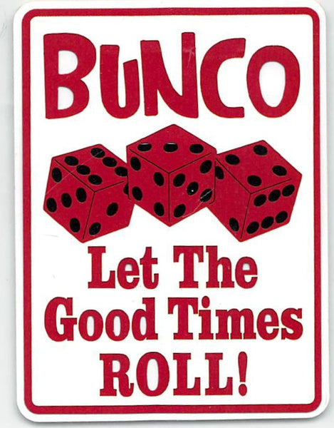 Bunco Let The Good Times Roll