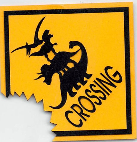 Dinosaur Crossing