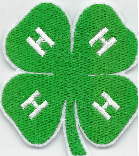 4-H Sew On Applique