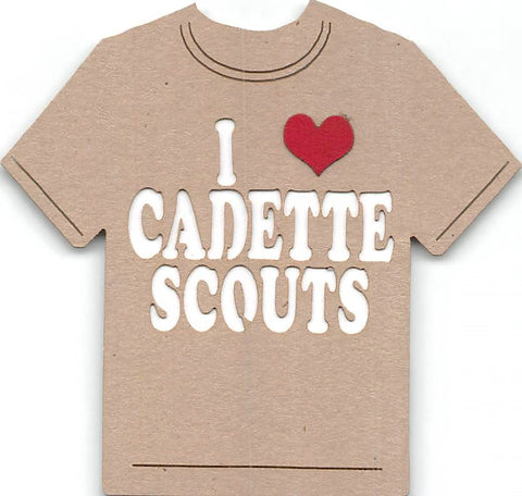 I Love Cadette Scouts - Girl Scouts