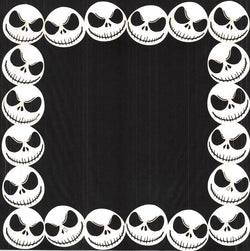 Jack Skellington Border Page