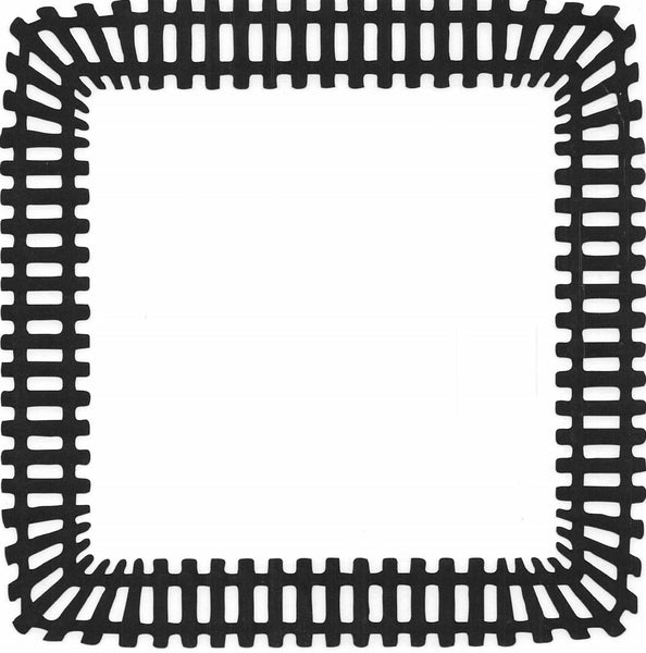 Train Track Border