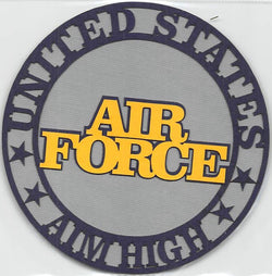 Air Force Aim High Circle