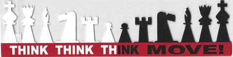 Chess Think Think Think Move Strip