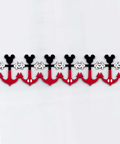 Mickey Anchor Strip with Hands