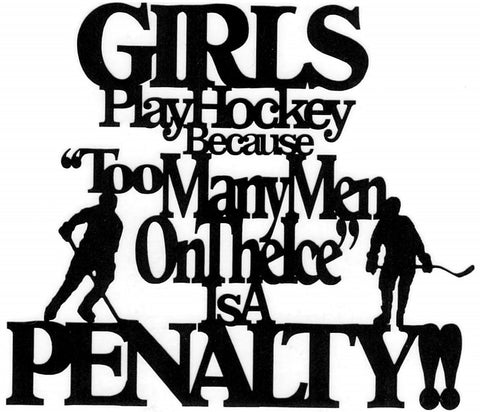 Girls Play Hockey