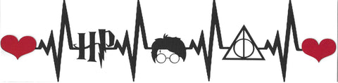 Harry Potter Heartbeat Strip