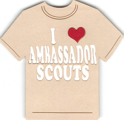 I Love Ambassador Scouts - Girl Scouts