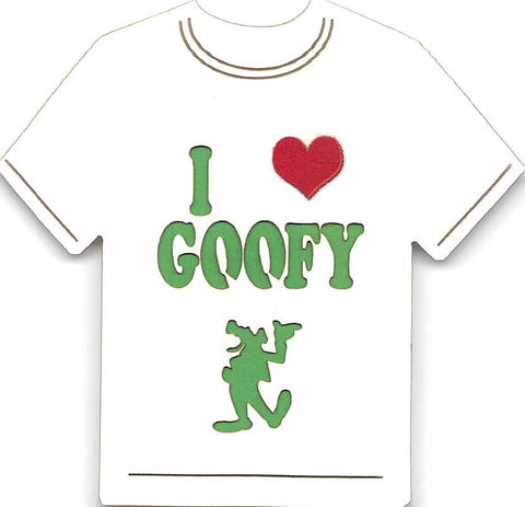 I Love Goofy T-Shirt