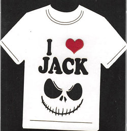 I Love Jack Skellington T-Shirt