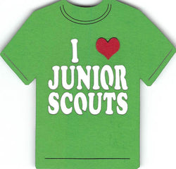 I Love Junior Scouts - Girl Scouts