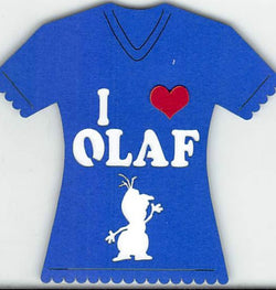 I Love Olaf T-Shirt