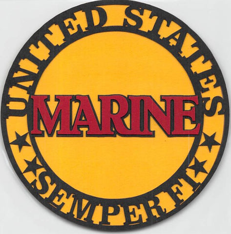Marine SemperFi Circle