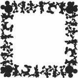 Mickey Minnie Border Page