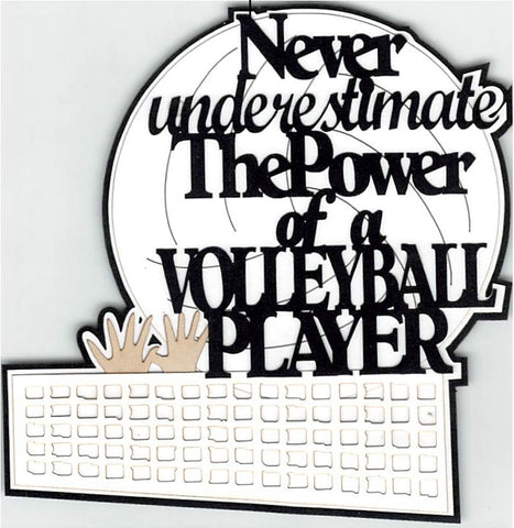 Never Underestimate The Power Of A Volleyball Player