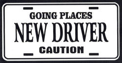 New Drive License Plate