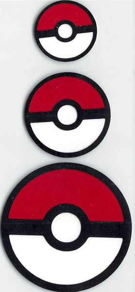 Pokeballs 3 Piece