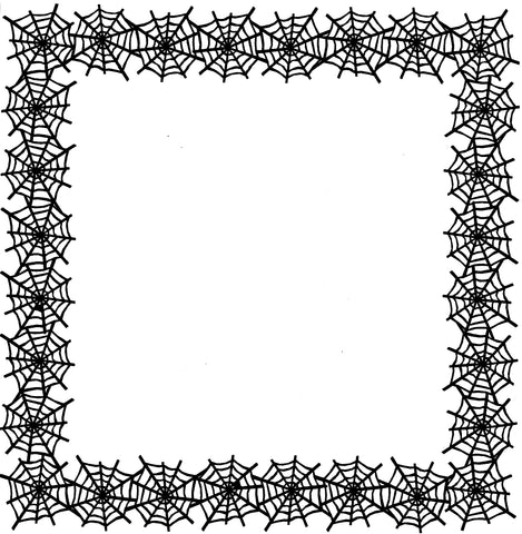 Spider Web Page Border