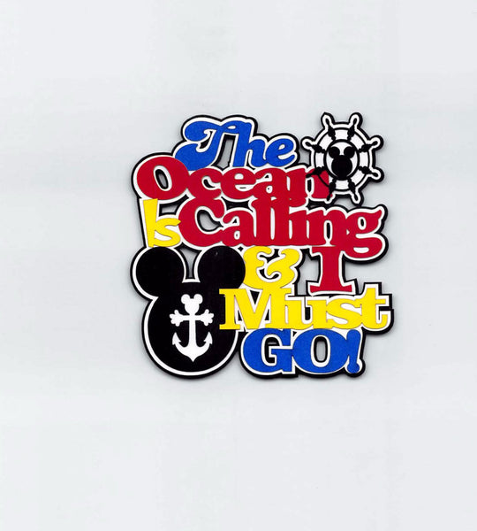 Disney Cruise The Ocean Is Calling & I Must Go