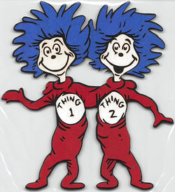Thing 1 Thing 2 Standing Cat in the Hat