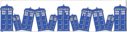 Tardis Police Box Strip