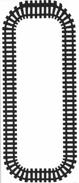 Train Track Rectangle