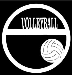 Volleyball Circle $2.75 Page