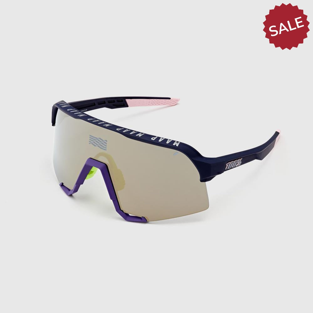 100% MAAP S3 Navy Sunglasses