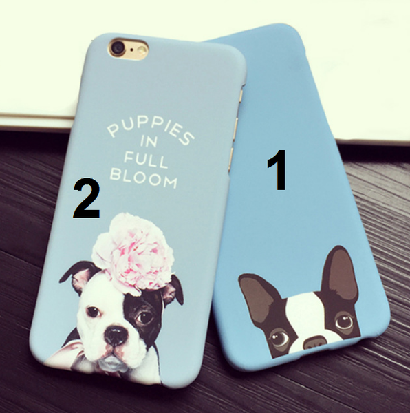 Hard PC Cute Dog Case