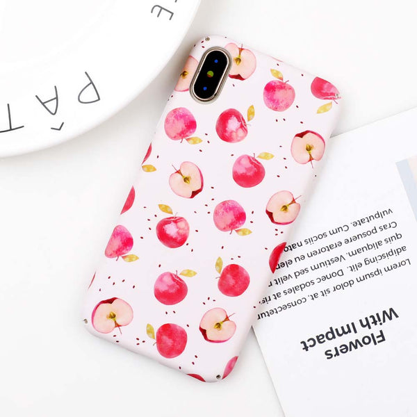 Cute Summer Fruit Apple Case