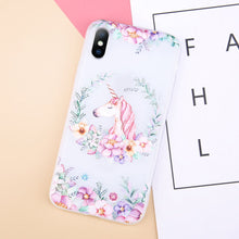 Cute Unicorn Flower Case