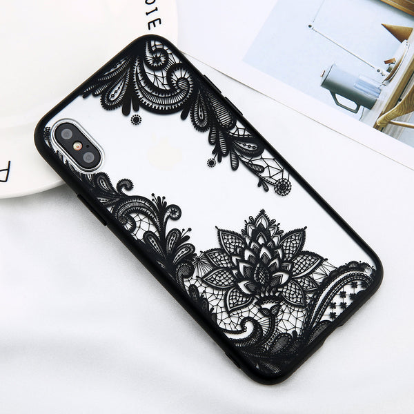 Retro Lace Flower Case