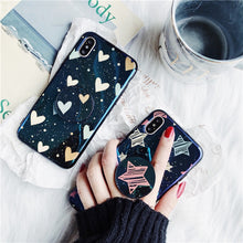 Stars & Hearts Case With PopSocket