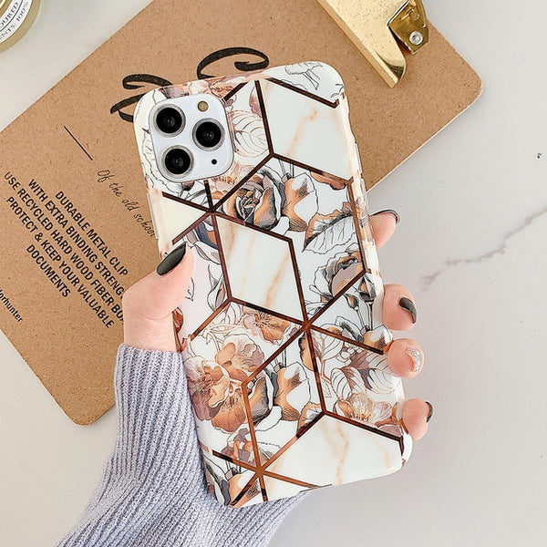 Geometric Flower Case
