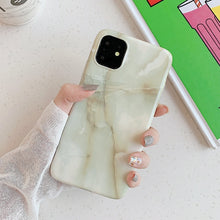 New Glossy Cracked Marble Case