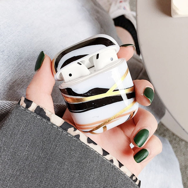 Luxury Marble Airpod Case