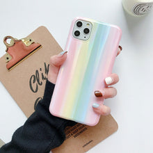 Colorful Laser Gradient Case