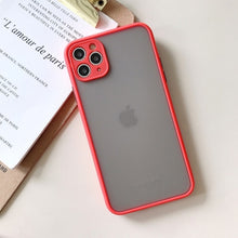 Lens Matte Shockproof Case