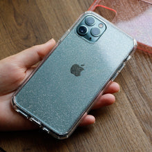 Glitter Transparent iPhone Case