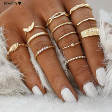 Charm Knuckle Midi Ring