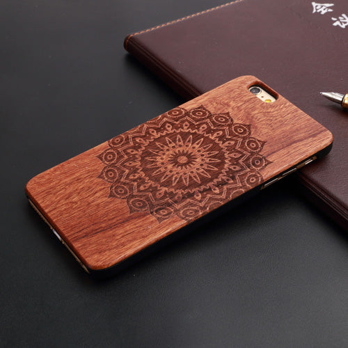 Real Natural Wood Case