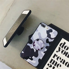 Camouflage Case with Popsocket