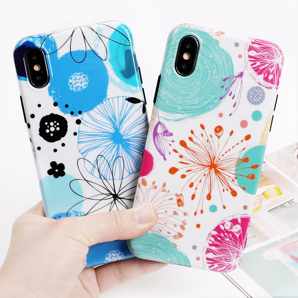 Colorful Flowers Case