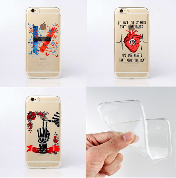 Twenty One Pilots Ultra fine Soft Silicone Case